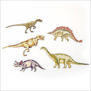Dinosaurs Set - Kids Pine Wall Art