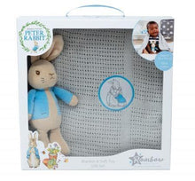 Load image into Gallery viewer, Peter Rabbit: Soft Toy & Blanket Set