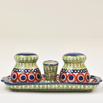 Salt & Pepper Set Color Love Olive/Navy