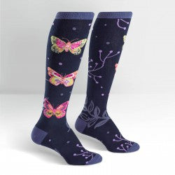 Knee-high Socks - madame butterfly