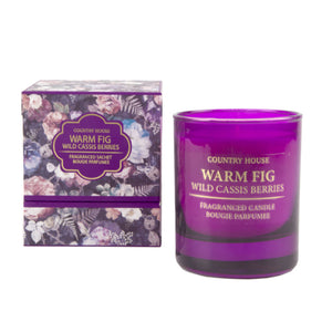 Scented Candle - Warm Fig