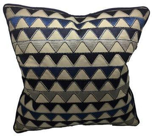 Blue Cotton Cushion - Tigerlily Gift Store