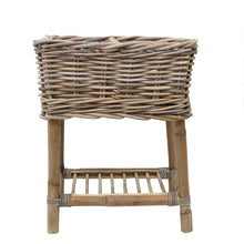 Load image into Gallery viewer, Rattan Basket Planter