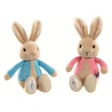 Peter & Flopsy Bunny Silky Rattle