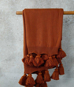 BIRCH Throw Terracotta