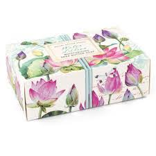 Michel Design Works Water Lilies Boxed Soap