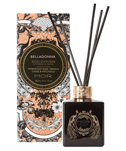 Belladonna Reed Diffuser Set 180ml - Tigerlily Gift Store