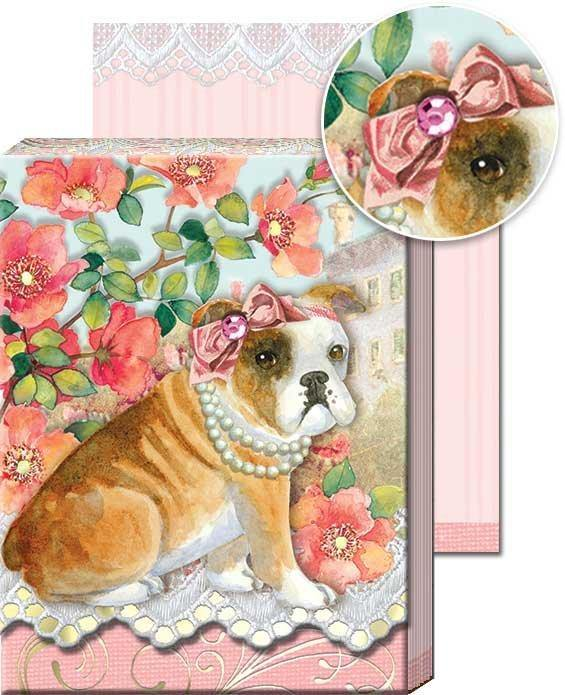 Glamorous Dog - Pocket Notepad