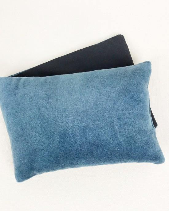 Wheat Bag Blue velvet