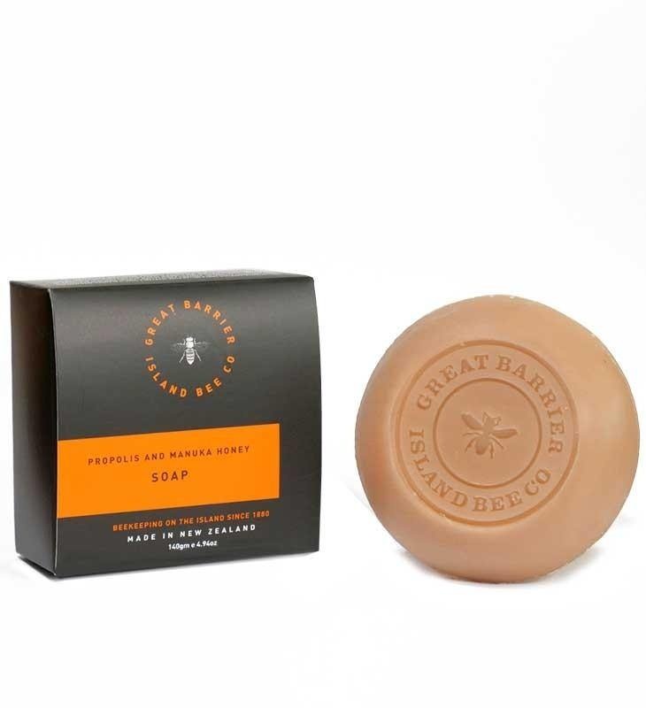 Great Barrier Island Manuka Honey Propolis Soap 140g