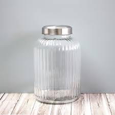 Large Glass Barrel