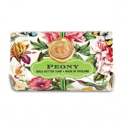 Michel Design Works Peony Large Soap Bar
