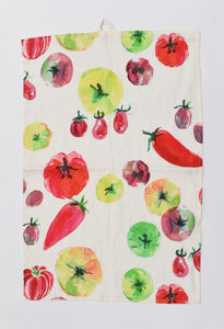 Market Garden Tea Towel