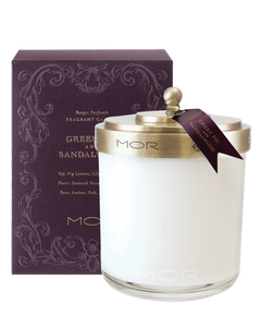 Green Fig and Sandalwood Fragrant Candle