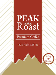 Peak Roast Regular Coffee-4 cup, 200cs