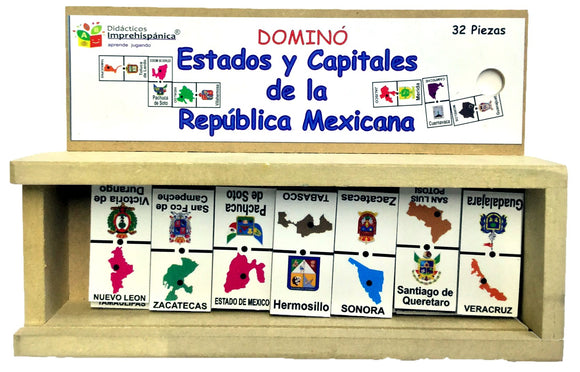 DOMINO ESTADOS Y CAPITALES