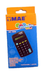 CALCULADORA ESCOLAR MAE MC-1000