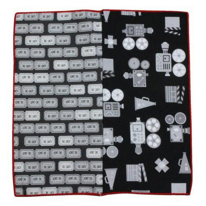 Pocket Square - Movie Buff Cotton