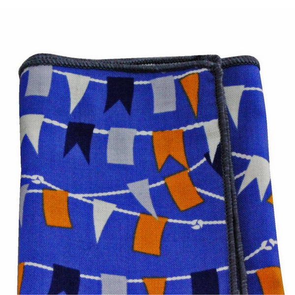 Pocket Square - Nautical Flags Cotton