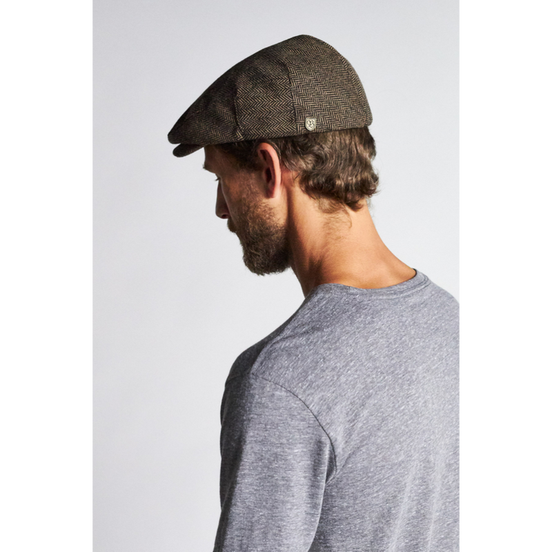 Brixton Hooligan Cap - Brown/Khaki