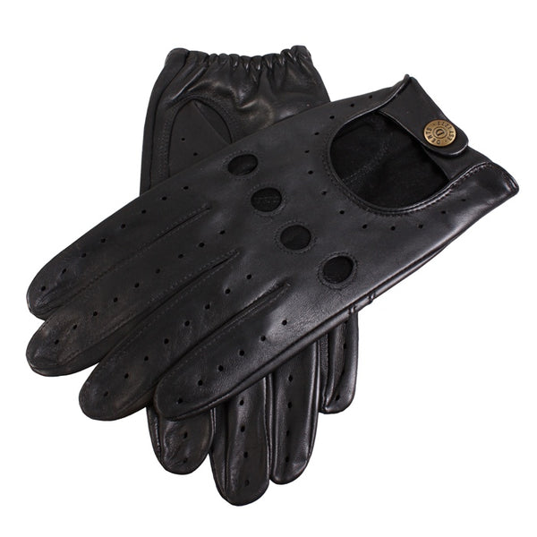 Dents Delta Men's Driving Gloves - Black