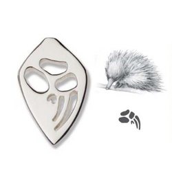 Bushprints hat pin - Echidna