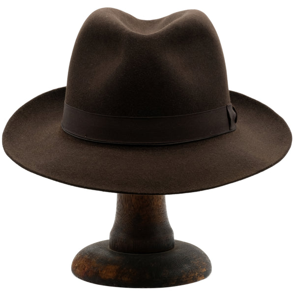 Akubra Fedora - Burnt Oak
