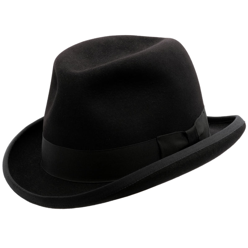 Akubra Homburg - Black