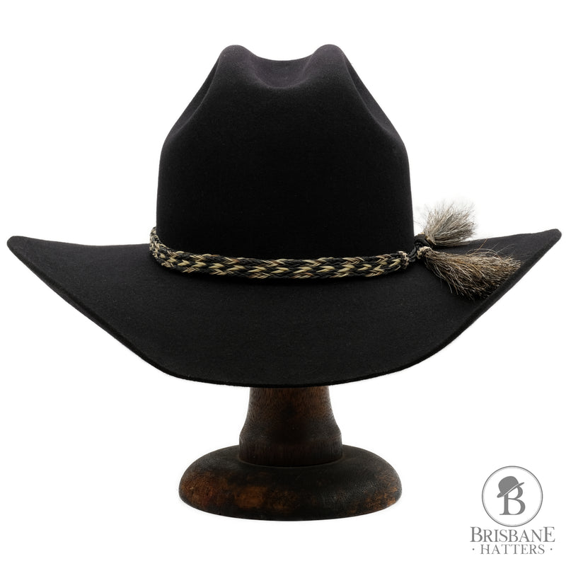 Akubra Rough Rider - Black - Brisbane Hatters