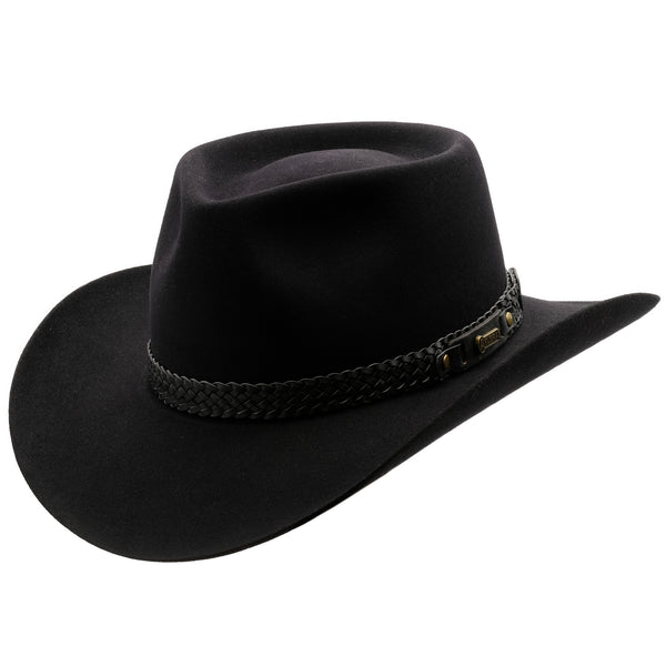 Akubra Snowy River - Black