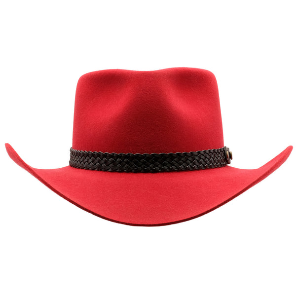 Akubra Snowy River - Rodeo Red