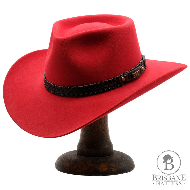 Akubra Snowy River - Rodeo Red - Brisbane Hatters