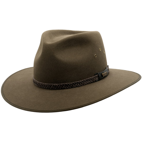 Akubra Tablelands - Brown Olive