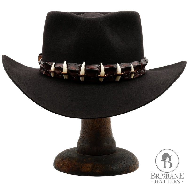 Akubra The Croc - Black - Brisbane Hatters