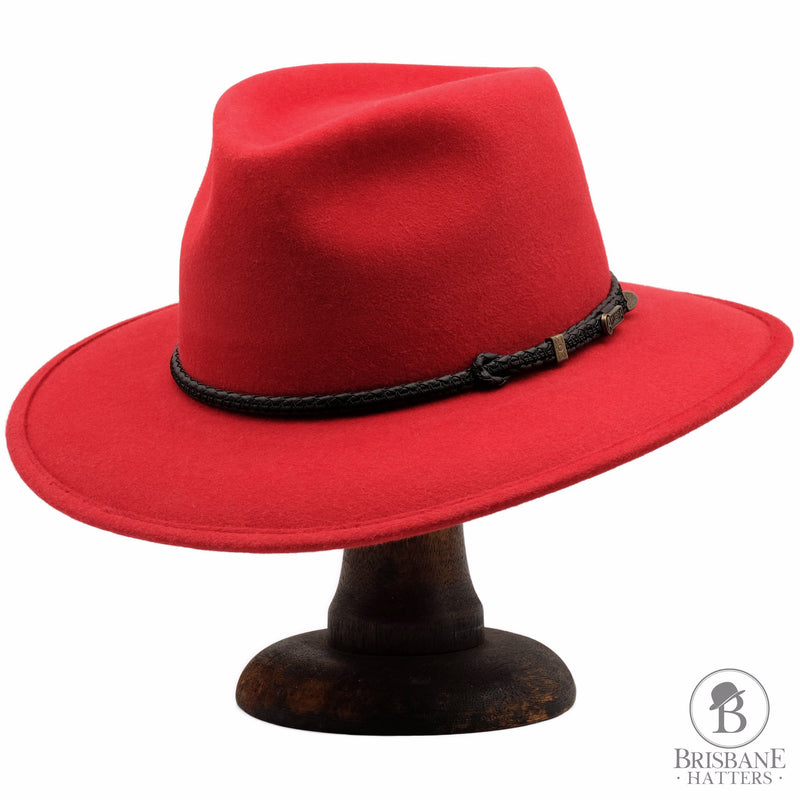 Akubra Traveller - Rodeo Red