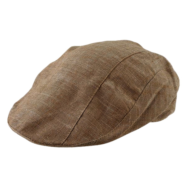Avenel Cotton Ivey Cap - Brown