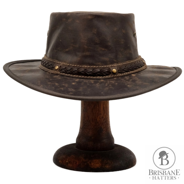 Barmah Squashy Crackle Kangaroo - Brown - Brisbane Hatters