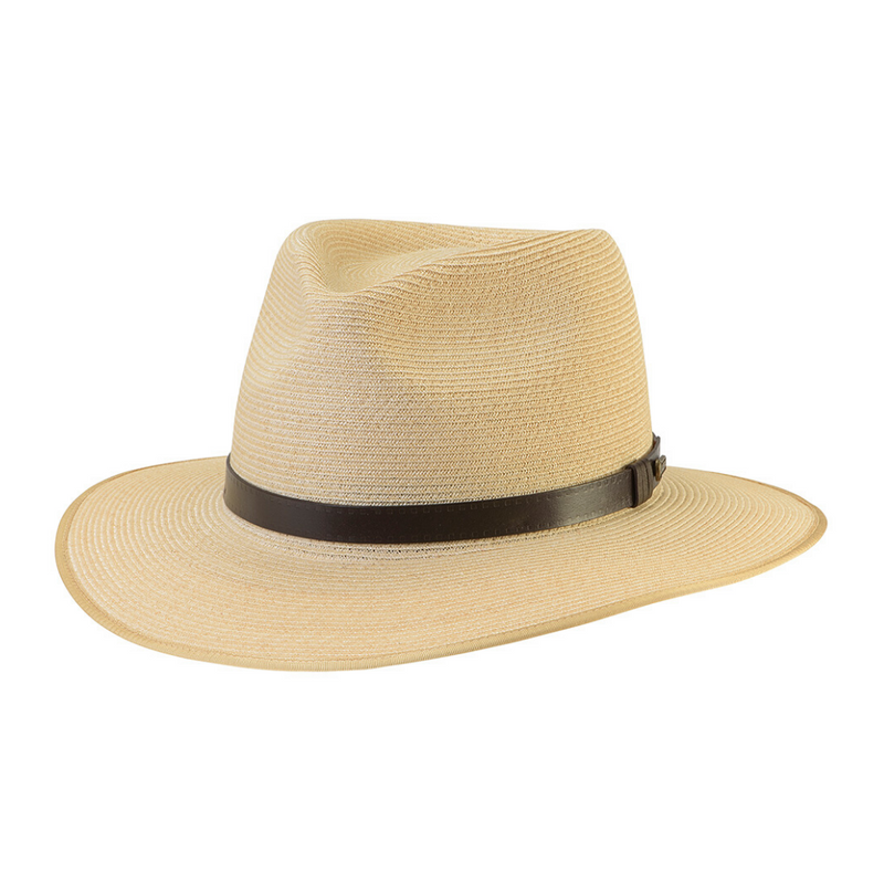 Angle view of Akubra Balmoral hat