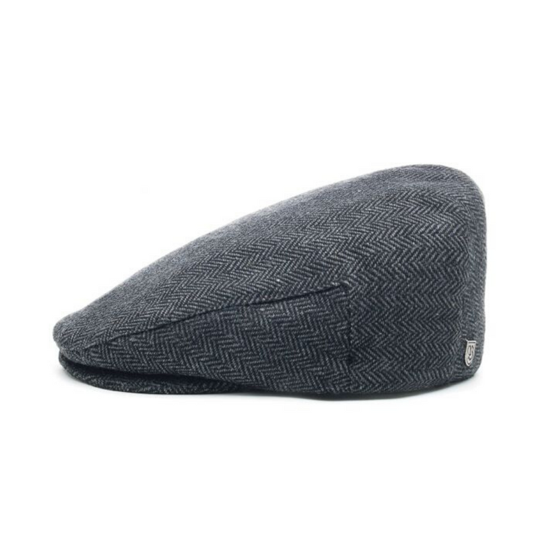 Brisbane Hatters, Brixton Hooligan Snap Cap - Grey/Black
