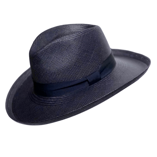 Brisbane Hatters Camilo Grand Planter Panama - Navy