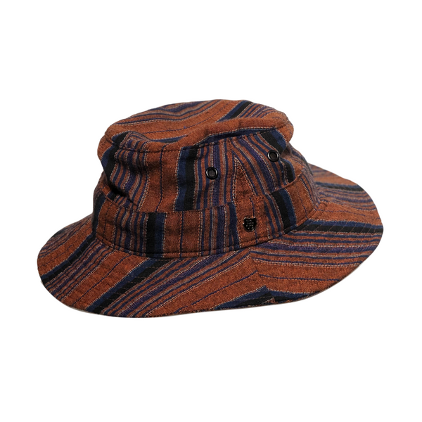 Brisbane Hatters Hills Hats Boho Bucket Hat - Orange