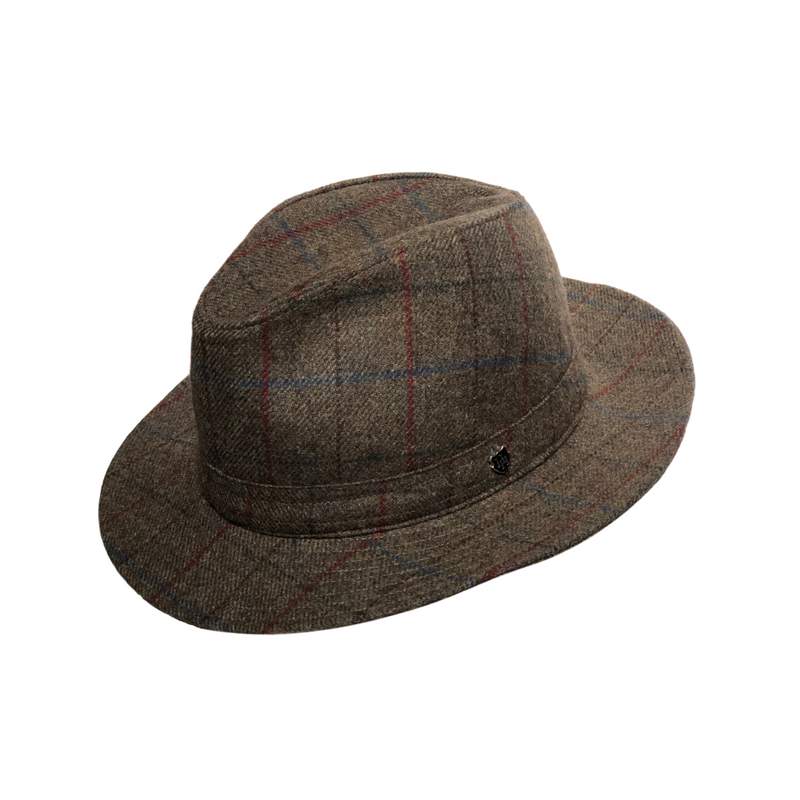 Brisbane Hatters Hills Hats Hunston Trilby hat - Brown