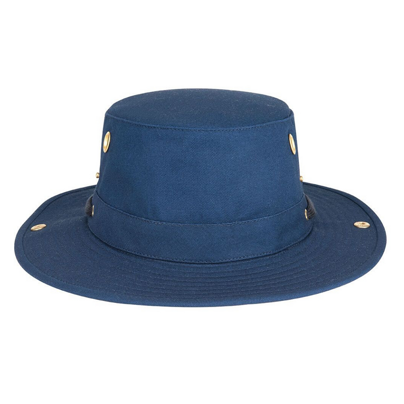 Brisbane Hatters Tilley T3 Cotton Duck hat - Royal Navy