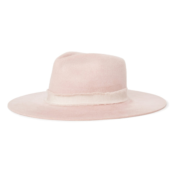 Brixton Ella Fedora in Lilac colour