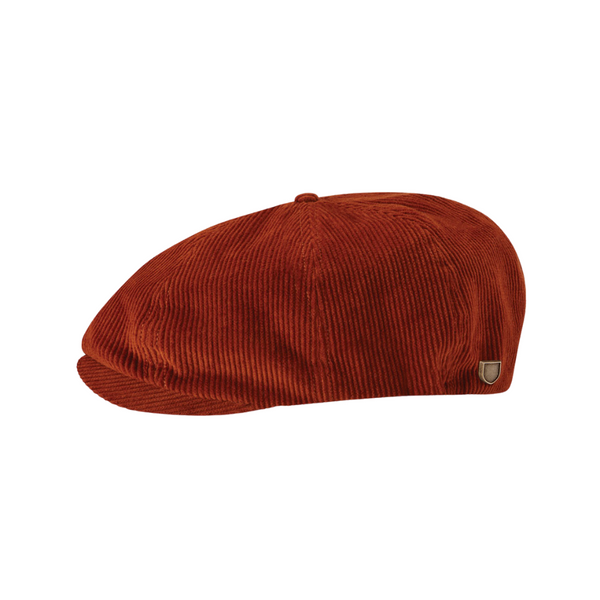 Brixton Brood cap in amber colour