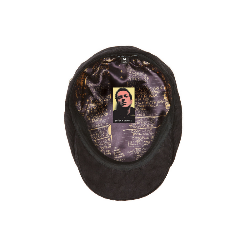 Brixton Brood cap underside - Joe Strummer limited edition