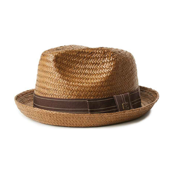 Brixton Castor Hat - Sepia/Brown colour