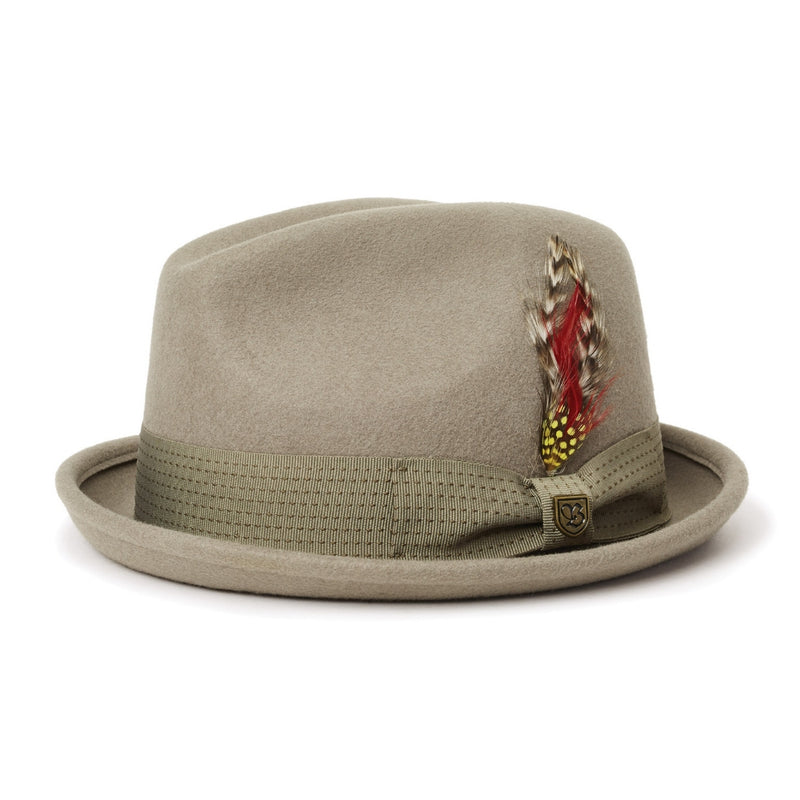 Brixton Gain Fedora in sage colour
