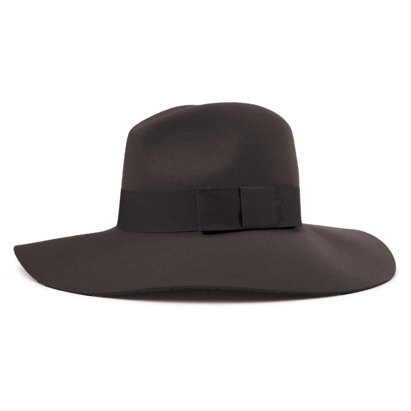 image of Brixton Piper floppy brim hat in black