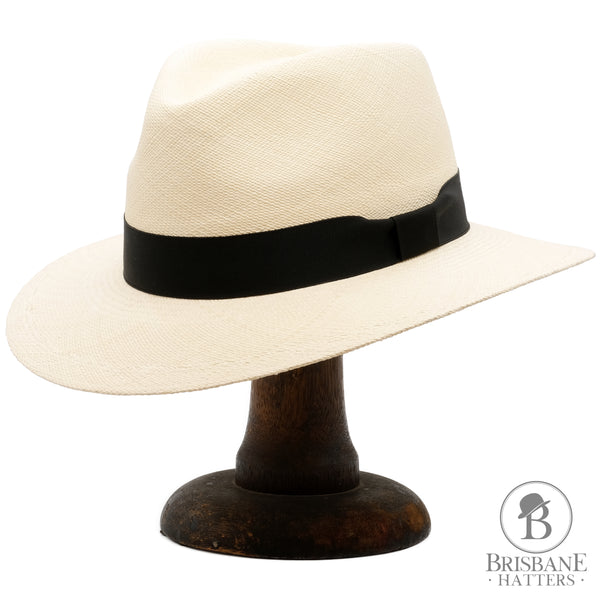 Camilo Executive Fino Panama - Natural - Brisbane Hatters